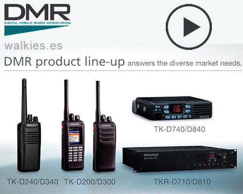 Video KENWOOD DMR TK-D340